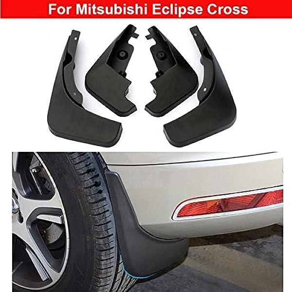 4 Stück Kunststoff Reifen Schutzblech Spritzschutz Schmutzfänger Für Eclipse Cross 2018 2019 2020 Auto