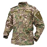 TACVASEN Military Ripstop Herren Hemd Tactical Jacke Uniform