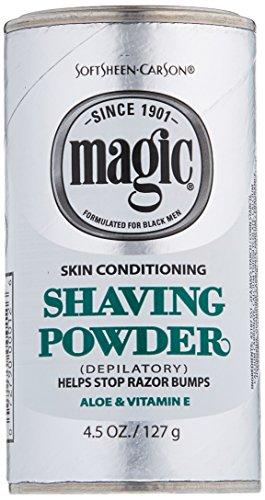 Magic Platinum Shaving Powder 4.5oz. Skin Conditioning by Magic