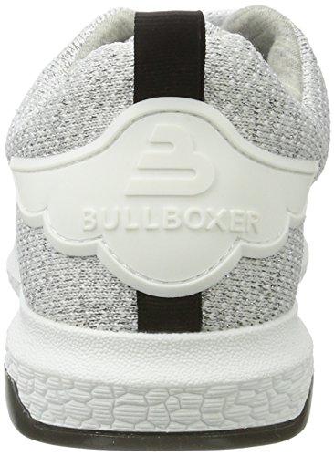 Bullboxer - 067005f5t, Scarpe basse Donna Argento (Silver)