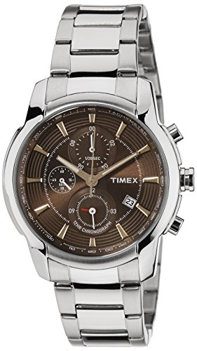 514LtgQv76L - Timex TW000Y503 E Class Brown Mens watch