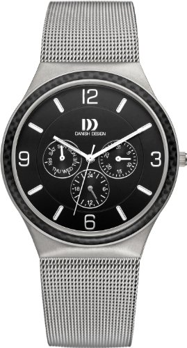 Danish Design DZ120174 - Orologio da polso, uomo, titanio, colore: argento