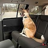Kurgo Auto-Tür Schutz für Hunde, Wasserfest und kratzfest, Größenverstellbar – Passend für die meisten Fahrzeuge, Schwarz, Car Door Guard, 01158