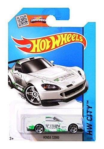 Hot Wheels - HW City - Honda S2000 - Long Card (White Colour) by Hot Wheels