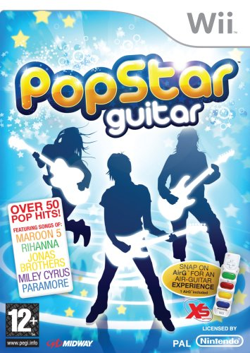 Pop Star Guitar (nintendo Wii)