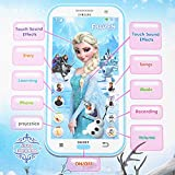 RSENTERPRISE Toy Mobile phone Disney Frozen Smartphone Learning device Music Song for Kids