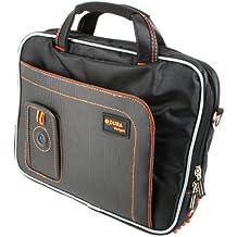 DURAGADGET Maletín Para Wacom Intuos Pen & Touch Tamaño S CTH-480S-S | Pro CTL671 Graphic Tablet - Alta Calidad - En Color Negro Y Naranja