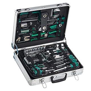 Mannesmann - M29072-124 piezas Juego de herramientas en maletín de aluminio (B009I4HXE0) | Amazon Products