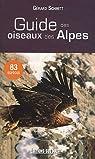 Guide des oiseaux des Alpes par Schmitt