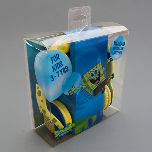 Image of Spongebob Epic Junior Headphone  - Yellow