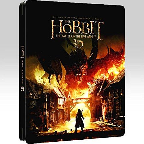 The Hobbit: Battle of the Five Armies 3D Steelbook [Blu-Ray]