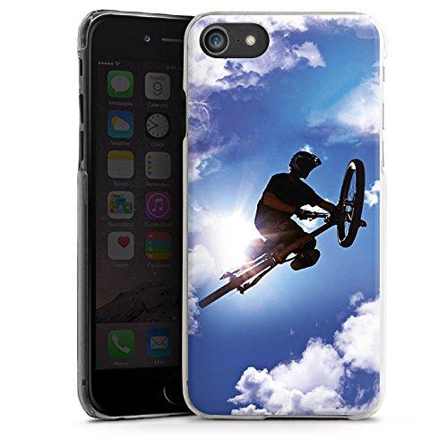Apple iPhone X Silikon Hülle Case Schutzhülle Mountainbike Fahrrad Sport Hard Case transparent