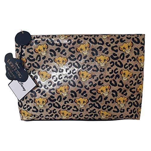 Disney The Lion King Kulturbeutel, Make-up-Tasche, Münzbörse, für Damen Mehrfarbig gemischt Large