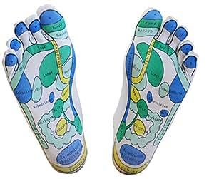 Reflexzonen-Socken, 1 Paar – für die einfache Fußreflexzonenmassage zuhause, Fußreflexzonenmassage, Massagesocken, Reflexologie