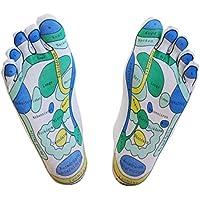 Reflex zonas de calcetines, 1par–para facilitar el soporte Reflexología hogar, soporte Reflexología Masaje Calcetines, Reflexología.