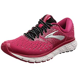 Brooks Damen Glycerin 16 Laufschuhe, Black/Pink/Grey