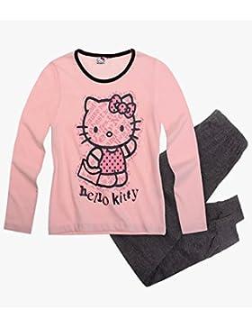 Hello Kitty niña Pijama/Pijama Rosé–Antracita