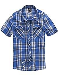 Brandit Roadstar Hemd Blau/Weiß