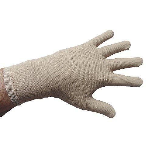 Tepso® Handschuhe Extrastark-Hautfarbe-S gegen Psoriasis/Schuppenflechte und Neurodermitis