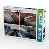 Kühlerfiguren (Cadillac, Chrysler, Ford, Chevrolet) 1000 Teile Puzzle Quer
