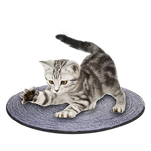 Katzen Kratz Spielzeug Sisal-Matte Kratzbrett für Katzen mit Viele Muster Kratzmatte Sisalteppich für Wand Boden