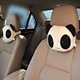 Holeider Weich Sicherheitsriemen Gurtpolster Sitz Kopf Hals Kissen Panda Schüchternes Kissen Spielzeug Geschenk