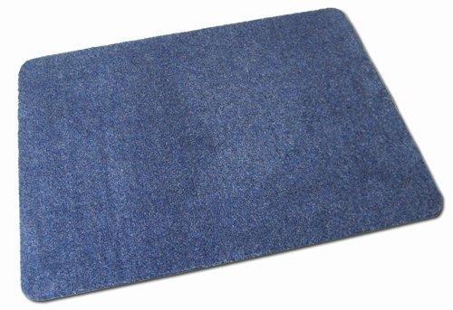 Deko-Matten-Shop Fußmatte Olefin, Schmutzfangmatte, rechteckig, 40x60 cm, blau, in 16 Größen und...