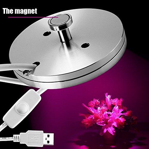 Super dünne USB-5W LED Pflanze Wachstum Füllung spektrale Lampe für Blume Gemüse