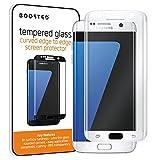 Galaxy S7 Edge 0.22mm Ultra Dünner Vollbildschirm Schutz aus abgerundetem Panzerglas mit 9H HŠrte und Anti-Fingerabdruck Oleophobic Beschichtung - Weiss