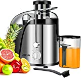 Jocuu Centrifugeuse Extracteur de Jus de Fruits et Légumes 600W Juicer Sans BPA avec Double Vitesse...