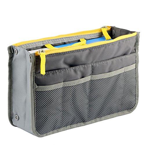 Aeoss Multipocket Grey Handbag Organizer