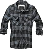 Brandit Check Shirt Black-Grey 7XL