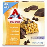 Atkins Day BreaK Chocolate Chip Crisp Bars 5 x 37g per pack (Pack of 6)