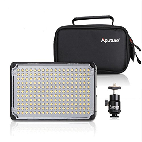 Camcorder Kit Bag (Aputure Amaran AL-H198 Led Video Licht High CRI 95+ LED 5500k Farbtemperatur Video Licht Für Canon Nikon Camcorder)