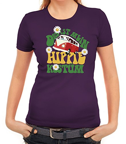 ShirtStreet Fasching Karneval Damen T-Shirt mit Das ist -