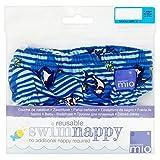 Bambino Mio Blu Nuotare Medio Pannolino 7-9Kg (Confezione da 6)