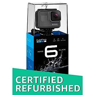 GoPro HERO6 Camera - Black (Certified Refurbished)