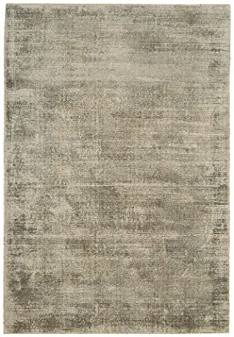 Contemporain tapis design Barrow RUG 160x230cm SMOKE brun / gris