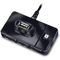 iBall Piano 423 High Speed 4 Port USB 2.0 HUB, Black