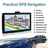 Sat Nav GPS Navigation System, 7 inch Bluetooth 8GB 256MB YoJetSing Car Truck Lorry Satellite Navigator Device