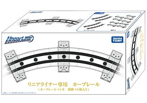 Linear liner dedicated curve rail (4 pieces) (Liner Rail)
