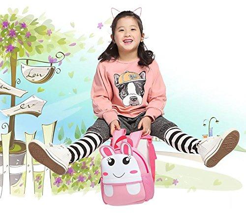 Imagen de bebé  infantiles guardería  para la guardería escolar infantil el chico la chica cartoon baby backpack conejo  alternativa