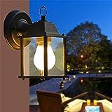 Anbiratlesn Modern Wandleuchten E27 Antik Wandlampe Vintage Rustikal Wandlampe für Schlafzimmer Wohnzimmer Bar Flur Badezimmer Küche Balkon Innen Lampe Balkon Abdichtung Industrie Wandleuchte