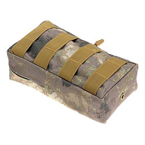 """Anmas Box 8 4.75 2"""" Militär Nylon Außen Armee Gürteltasche Beutel-fall FG"""