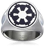 Star Wars Imperial Symbol Edelstahlring | 12