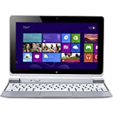 Acer Iconia W510 10.1-inch Tablet with Keyboard-Silver (Intel Atom Z2760, 2Gb RAM, 64Gb SSD, WLAN, BT, Webcam, Integrated Graphics, Windows 8)