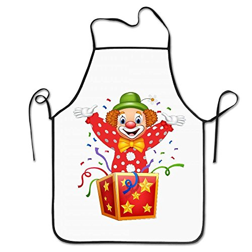 sdfgsdhffer Clown Surprise Aprons Cute Adult Aprons -