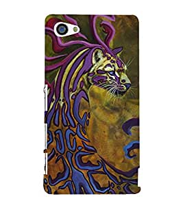 Cheetah 3D Hard Polycarbonate Designer Back Case Cover for Sony Xperia Z5 Compact :: Sony Xperia Z5 Mini