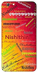 Nishithini (Night) Name & Sign Printed All over customize & Personalized!! Protective back cover for your Smart Phone : Motorola Moto - X ( 1st Gen )