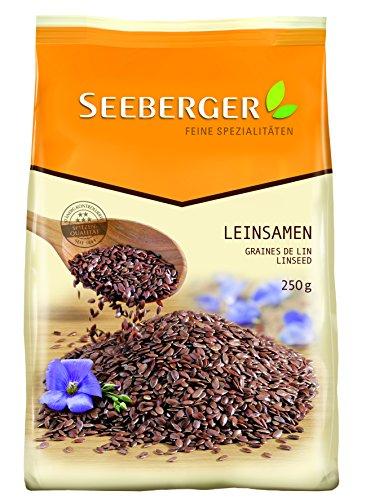 Seeberger Leinsamen, 9er Pack (9 x 250 g) -